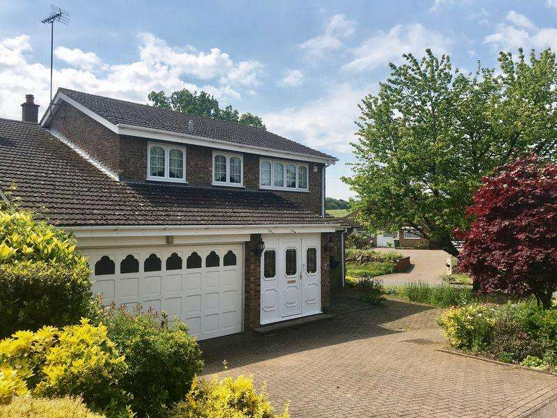 4 Bedrooms Detached House for sale in Crosslands, Caddington