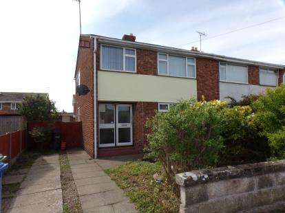 3 Bedrooms Semi Detached House for sale in Grosvenor Road, Prestatyn, Denbighshire, LL19