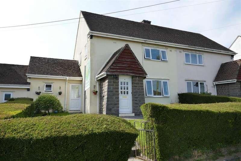 3 Bedrooms Semi Detached House for sale in Tregarth, Llangadog