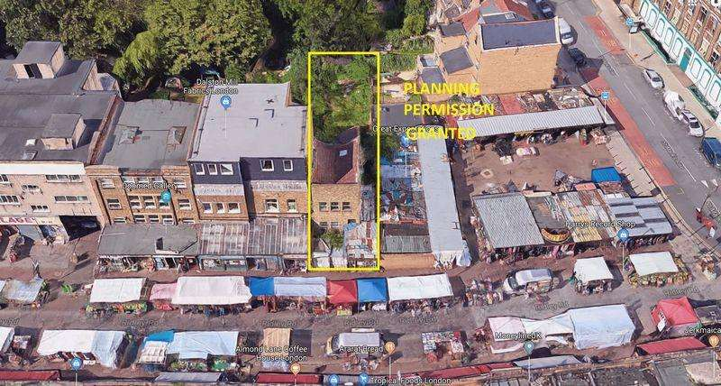 Land Commercial for sale in Development Opportunity, Ridley Road, Dalston, E8