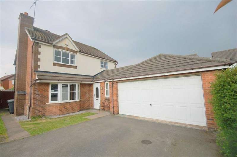 4 Bedrooms Detached House for sale in James Atkinson Way, Crewe
