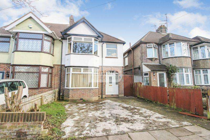 3 Bedrooms Semi Detached House for sale in Humberstone Road, Luton