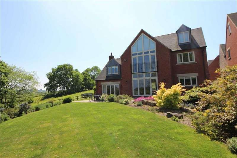 5 Bedrooms Detached House for sale in Derwent View, Crich Lane, Ridgeway