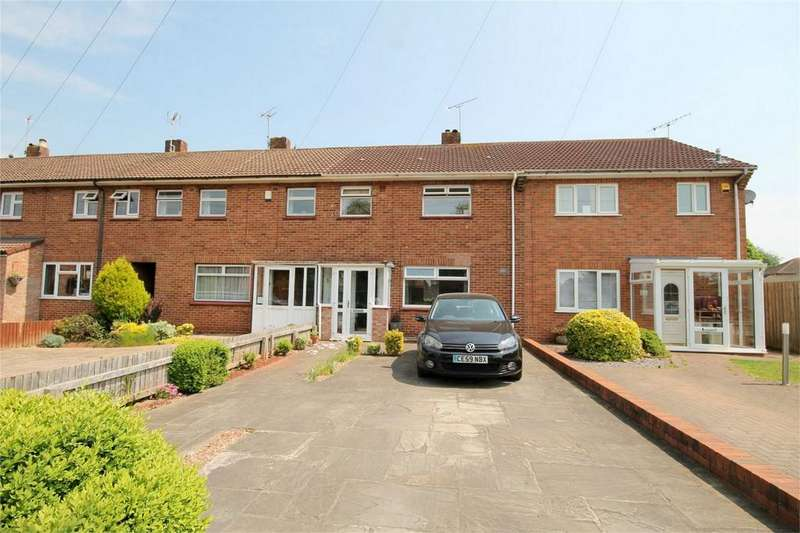 3 Bedrooms Terraced House for sale in Folliot Close, Frenchay, Bristol