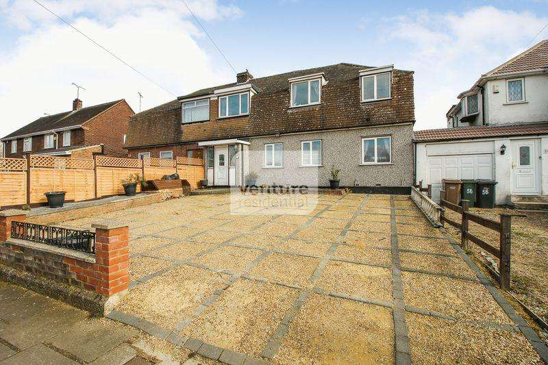 4 Bedrooms Semi Detached House for sale in Mayne Avenue, Luton