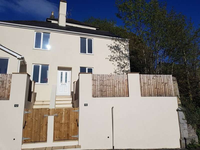 2 Bedrooms Semi Detached House for sale in Old Exeter Road, Newton Abbot