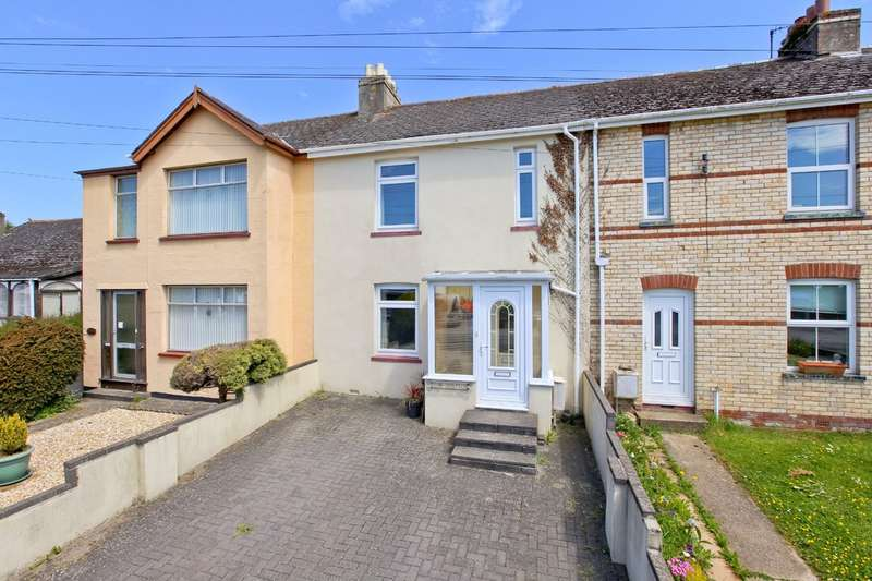 3 Bedrooms Terraced House for sale in Exeter Road, Kingsteignton