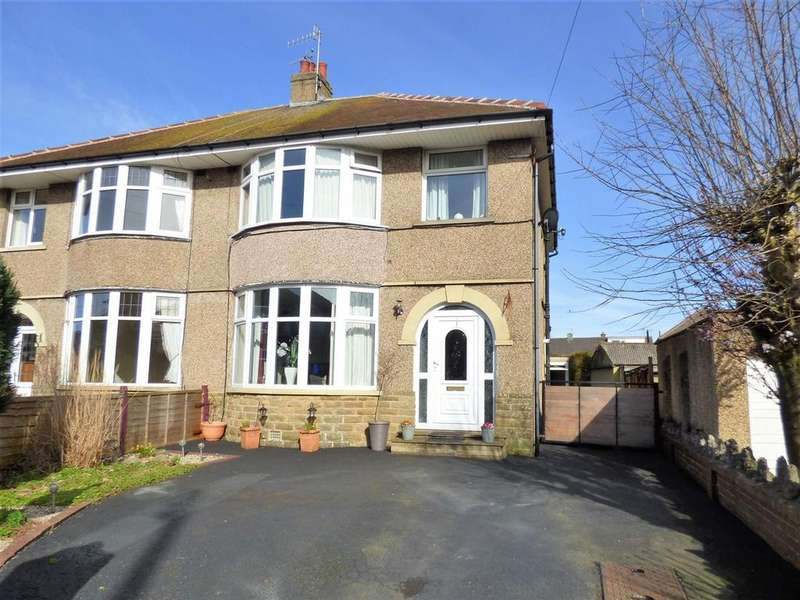 3 Bedrooms Semi Detached House for sale in Hala Crescent, Lancaster