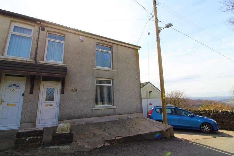 3 Bedrooms Semi Detached House for sale in Rhiw Cottages , Cefn Y Crib