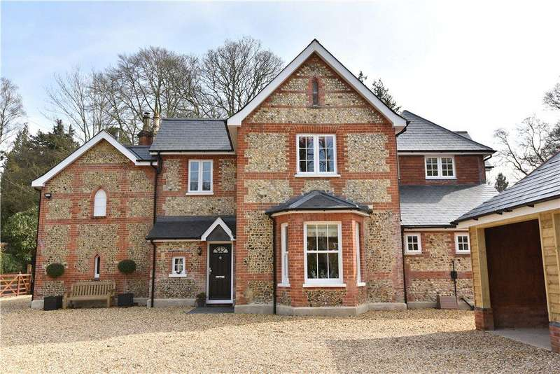 5 Bedrooms Detached House for sale in Avenue Road, Fleet, Hampshire, GU51