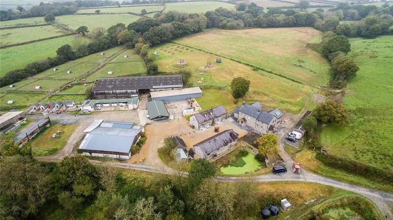 4 Bedrooms Farm Commercial for sale in Broad Oak, Nr Llandeilo, Carmarthenshire, SA32