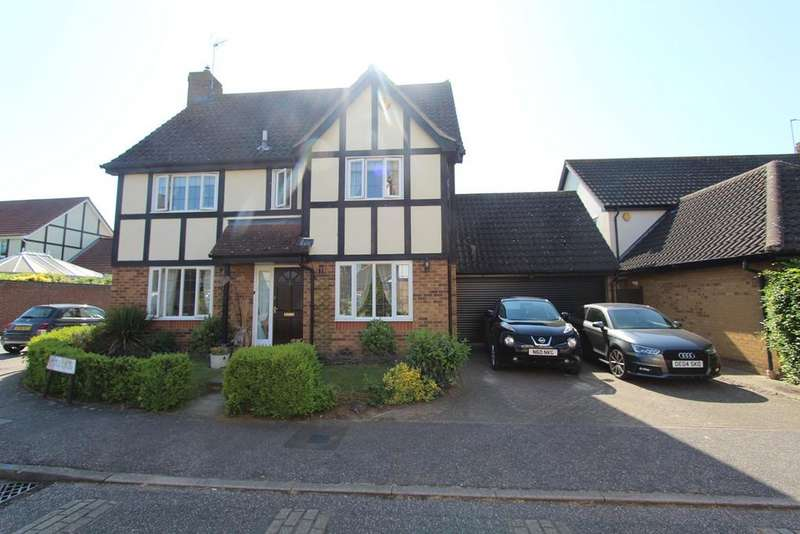 4 Bedrooms Detached House for sale in Hedgelands, Copford, Colchester, CO6