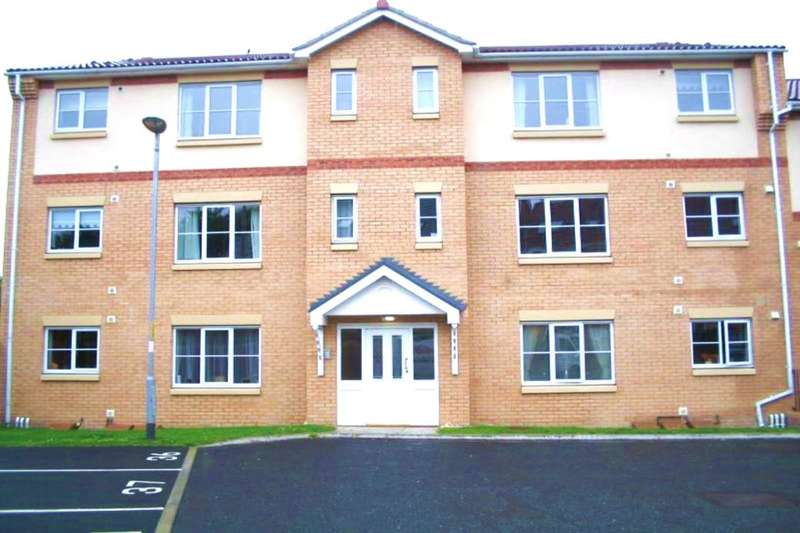 2 Bedrooms Flat for rent in Rosebud Close, Swalwell, Newcastle Upon Tyne, NE16