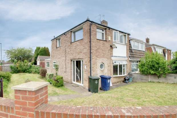 3 Bedrooms Semi Detached House for sale in Westminster Close, Middlesbrough, Cleveland, TS6 9NX