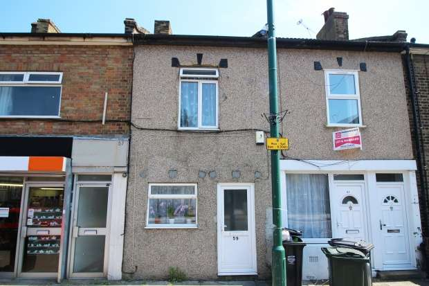 2 Bedrooms Terraced House for sale in High Street, Swanscombe, Kent, DA10 0AQ
