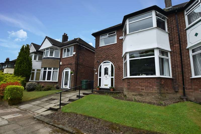 3 Bedrooms Semi Detached House for sale in Glendale Avenue, Sunny Bank, Bury, BL9