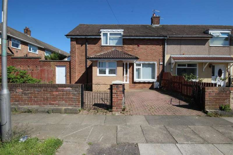 2 Bedrooms End Of Terrace House for sale in Lanark Road, Owton Manor, Hartlepool