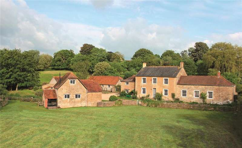 4 Bedrooms Detached House for sale in Mill Lane, Stour Provost, Gillingham, Dorset, SP8