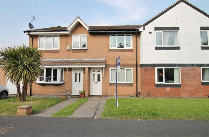 2 Bedrooms Town House for sale in Eltham Close, Widnes, Cheshire, WAQ8 3RG