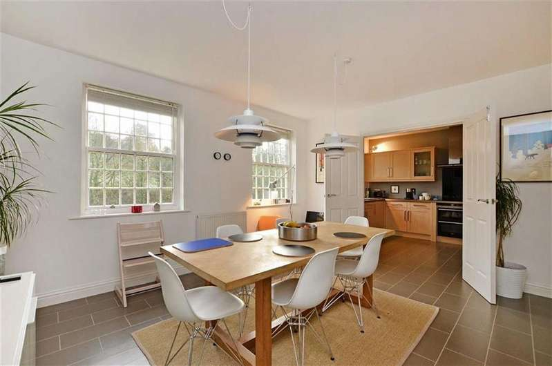 2 Bedrooms Penthouse Flat for sale in Apartment 8, Riverside Court, Calver Mill, Hope Valley, Derbyshire, S32