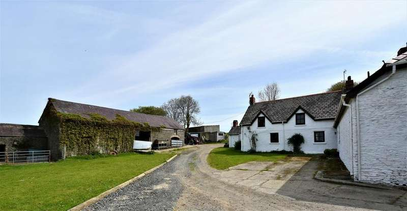 6 Bedrooms Farm House Character Property for sale in Creuddyn Bridge, Lampeter SA48