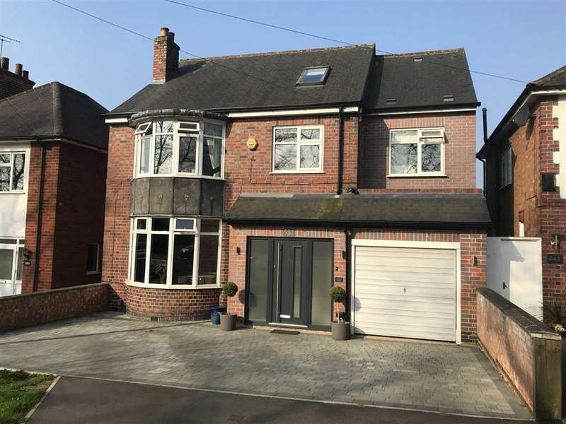 5 Bedrooms Detached House for sale in Welford Road, Knighton
