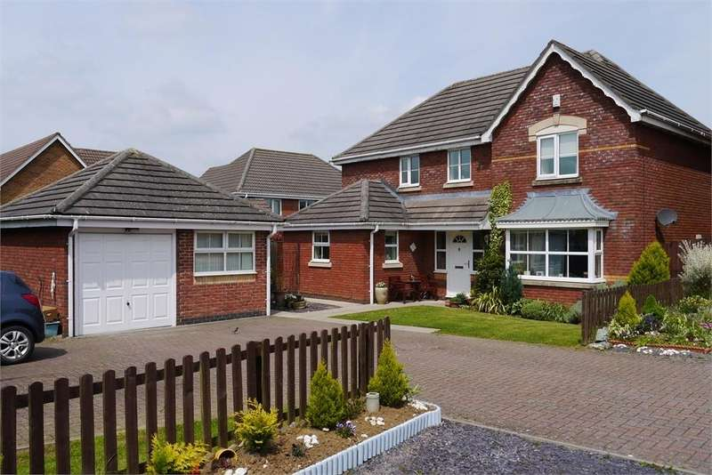 4 Bedrooms Detached House for sale in Forsythia Close, Lutterworth, Leicestershire