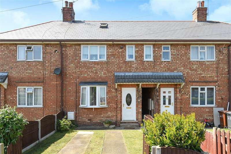 3 Bedrooms Terraced House for sale in Moorland Crescent, Lincoln, LN6