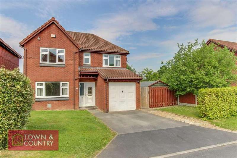4 Bedrooms Detached House for sale in Northop Close, Connah's Quay, Connah's Quay Deeside