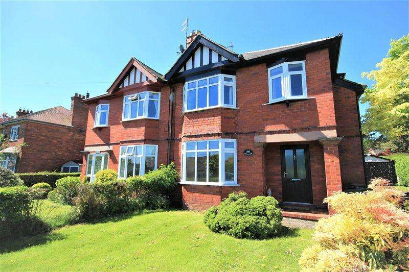 3 Bedrooms Semi Detached House for sale in Hollowood Road, Malpas
