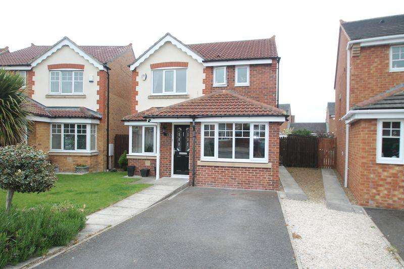 3 Bedrooms Detached House for sale in Chaucer Close, Billingham