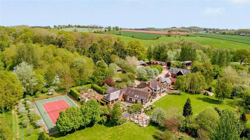 6 Bedrooms Detached House for sale in Edwyn Ralph, Bromyard, Herefordshire