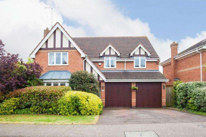 5 Bedrooms Detached House for sale in Moorhen Way, Buckingham