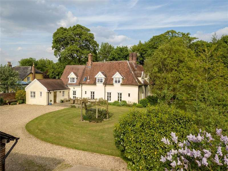 5 Bedrooms Detached House for sale in Upper Somerton, Nr Bury St Edmunds, Suffolk, IP29