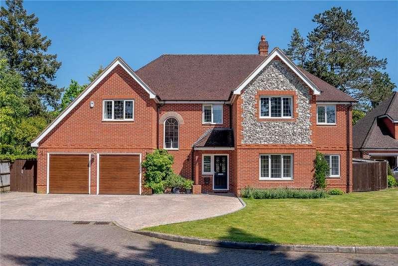 5 Bedrooms Detached House for sale in Heather Gardens, Newbury, Berkshire, RG14