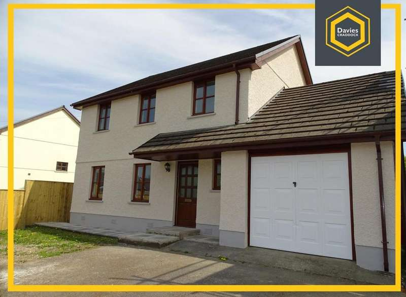 3 Bedrooms Detached House for sale in Ty Draenen Wen, Five Roads, Llanelli, SA15