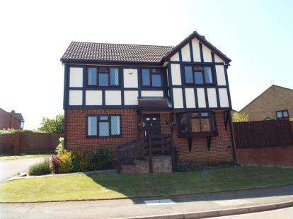 4 Bedrooms Detached House for sale in Reeds Dale, Luton, Bedfordshire
