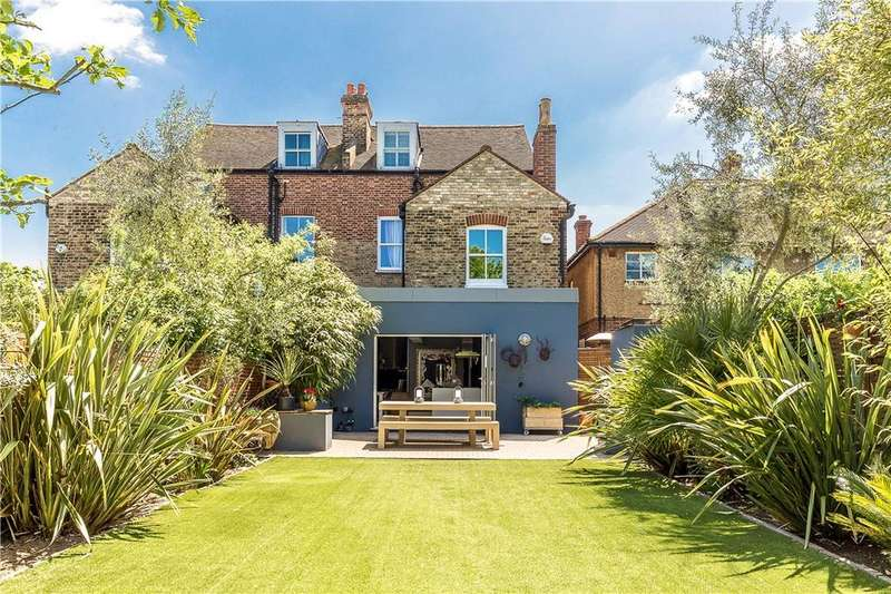 5 Bedrooms Semi Detached House for sale in Elmfield Road, Wandsworth, London, SW17