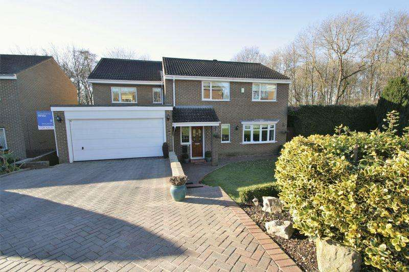 4 Bedrooms Detached House for sale in Faverdale Close, Stockton, TS19 0XN
