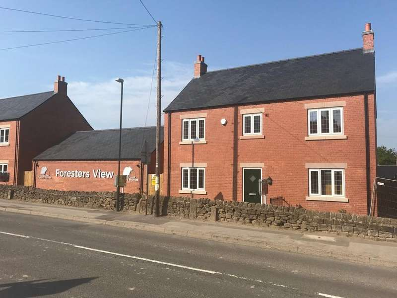 4 Bedrooms Detached House for sale in Frecheville Drive, Off Bullbridge Hill, Fritchley, Belper