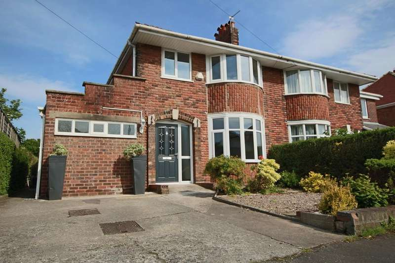 3 Bedrooms Semi Detached House for sale in West End, Penwortham