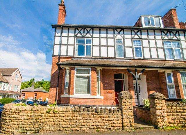 4 Bedrooms Semi Detached House for sale in Bingham Road, Sherwood, Nottingham, NG5 2EP