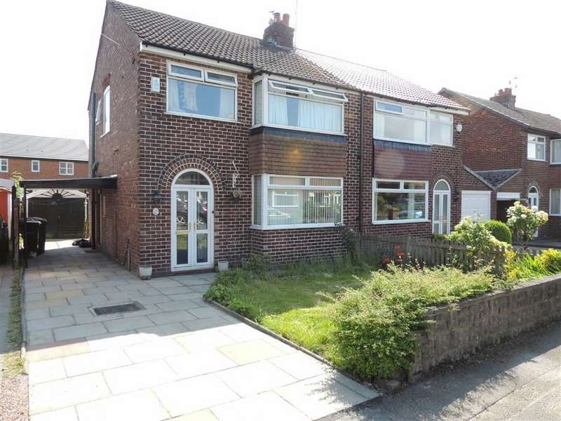 3 Bedrooms Semi Detached House for sale in Leyburne Road, Offerton, Stockport
