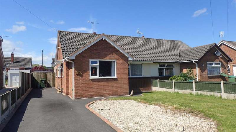 2 Bedrooms Semi Detached Bungalow for sale in Borras Park Road, Wrexham
