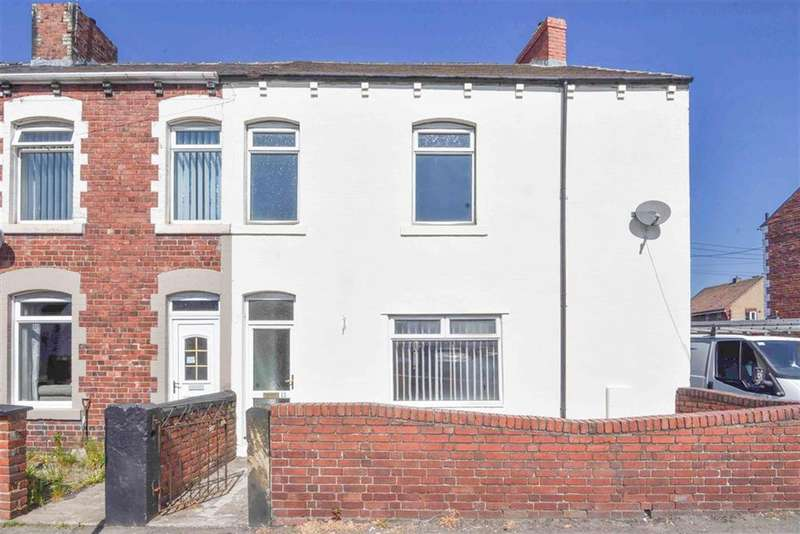 2 Bedrooms End Of Terrace House for sale in South View, Annfield Plain, County Durham DH9 7UD