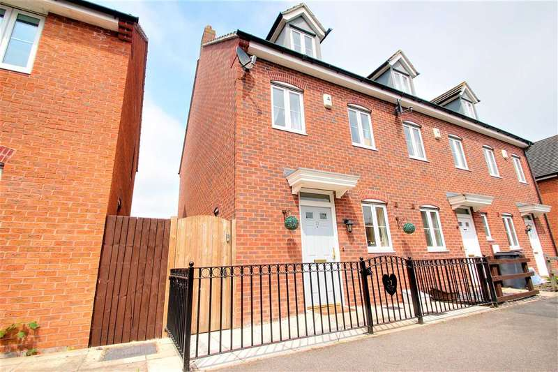 3 Bedrooms Terraced House for sale in Tall Pines Road, Witham St Hughs. Lincoln