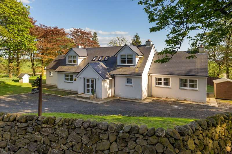 4 Bedrooms Detached House for sale in Mid Fullwood, By Stewarton, East Ayrshire, KA3