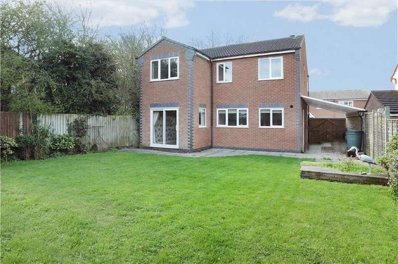 4 Bedrooms Detached House for sale in Geveze Way, Broughton Astley, Leicestershire