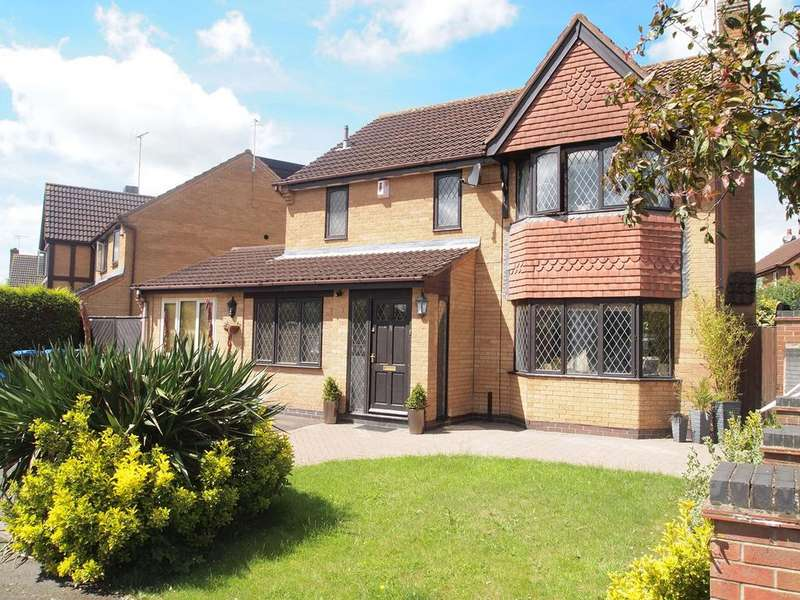 4 Bedrooms Detached House for sale in Milestone Close, Kibworth Harcourt, Leicester, LE8