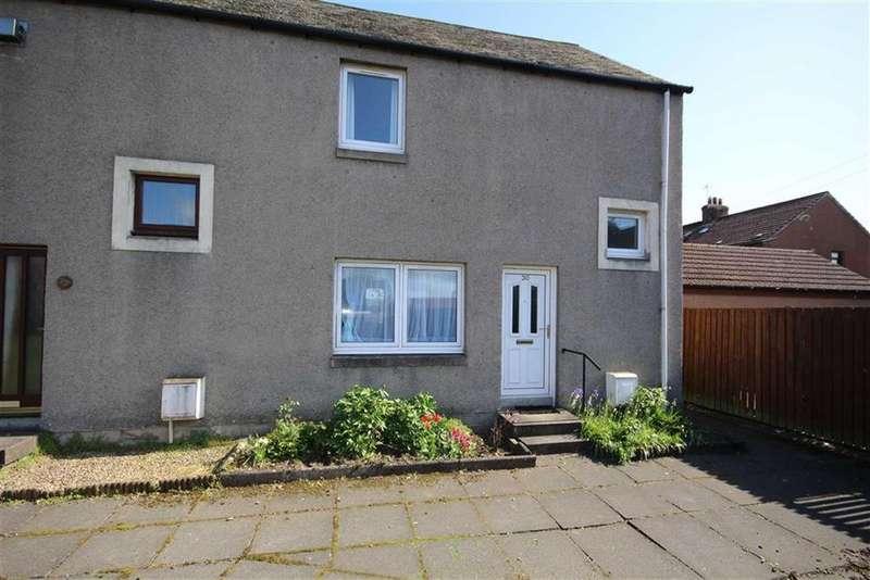 2 Bedrooms End Of Terrace House for sale in 30, Roselea Gardens, Ladybank, Fife, KY15